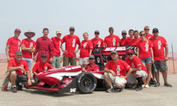 2013 FSAE Team and Car