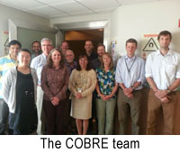 The COBRE team